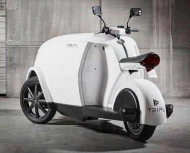 Scooter électrique : le Tripl de Govecs