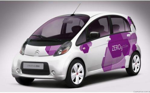 La C-Zero de chez Citroën