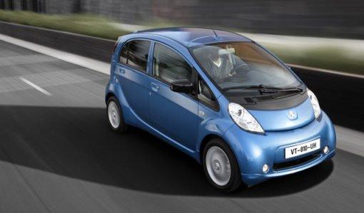 Voiture électrique : iOn de Peugeot