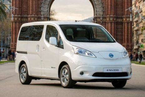 L'e-NV 200 Evalia de Nissan