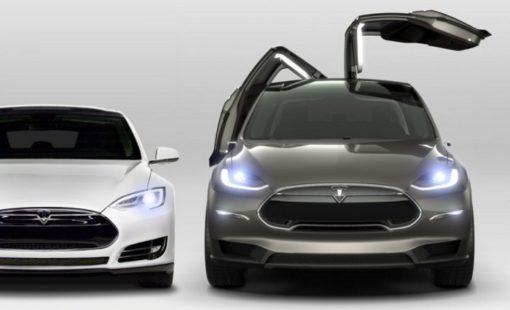 Les modèles électriques de Tesla