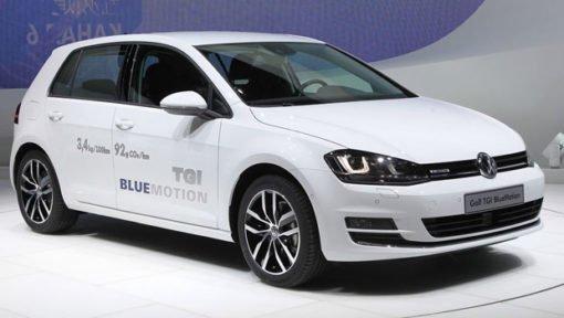Voiture au méthane Golf TGI BlueMotion