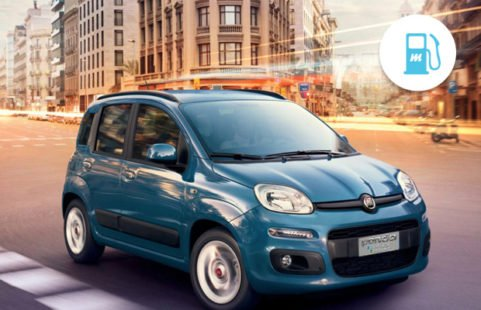 Voiture au methane Fiat Panda Natural Power