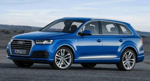 Voiture hybride Audi Q7 e-tron
