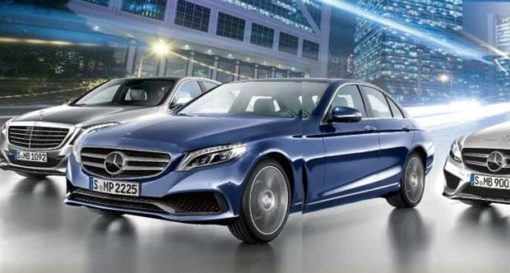 Voiture hybride : berline Classe E Bluetec Hybrid