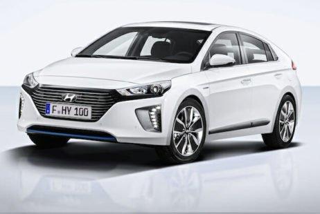 Voiture hybride gamme Ioniq Hyundai