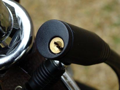 Utilisez un cadenas pour éviter un vol de vélo !