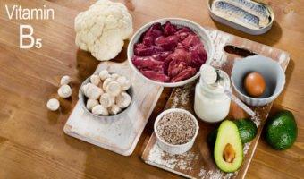 La vitamine B5 ou acide pantothénique