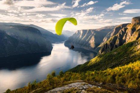 Le parapente, un sport nature