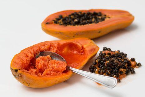 Papaye et graines de papaye