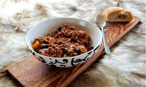 Recettes du chili con carne