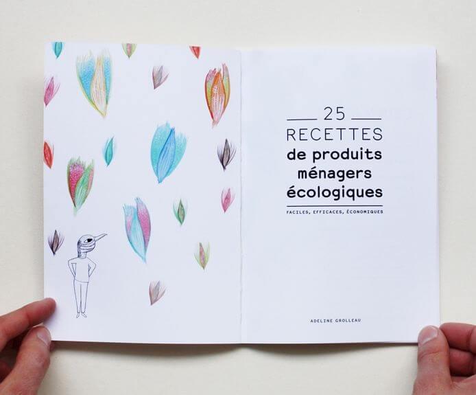 """DIY produits d'entretien : le livre """"25 recettes de produits ménagers écologiques"""" d'Adeline Grolleau"""
