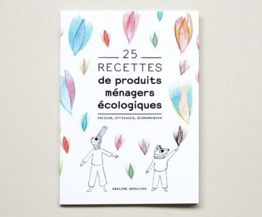 """DIY produits d'entretien : le livre """"25 recettes de produits ménagers écologiques"""""""