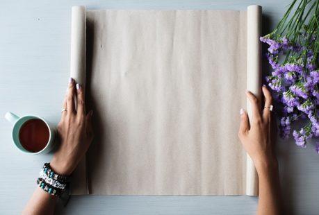 Fleur en papier : une véritable activité manuelle !