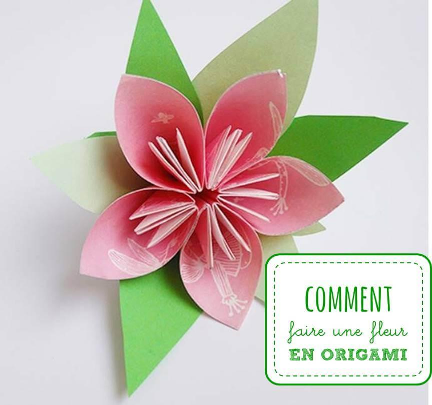 Fleur en papier : comment créer de jolies fleurs avec du papier