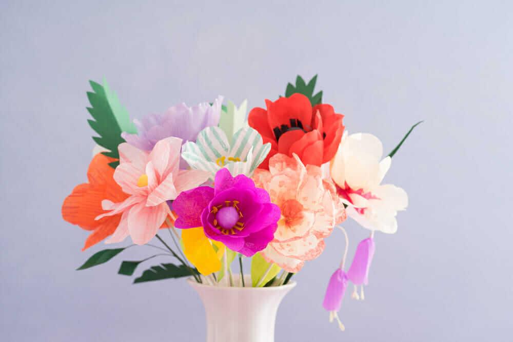 Photo of Fleur en papier : l'art de créer et de décorer son intérieur avec des fleurs en papier