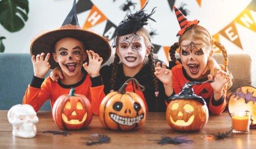 Halloween : maquillage bio pour enfant