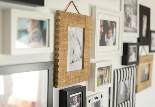 fabriquer un cadre photo facile