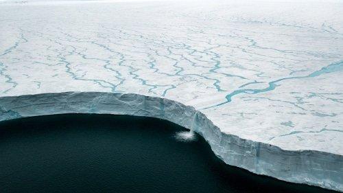 Le mur de glace de l'Arctique
