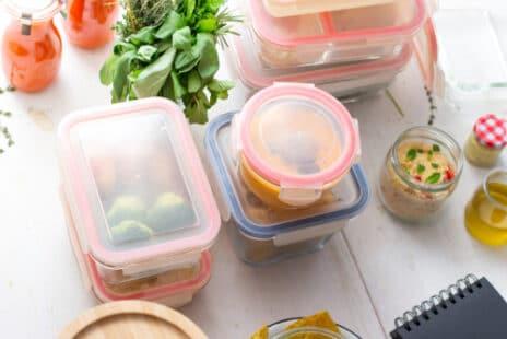 Conserver les aliments pour les utiliser tout au long de la semaine