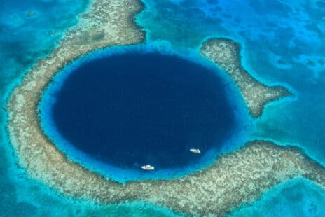 Le trou bleu du Belize