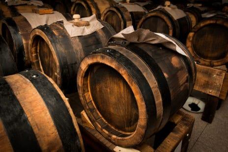 Fûts de vinaigre balsamique