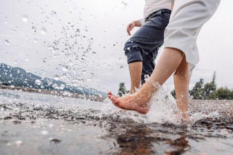 L'eau froide pour améliorer la circulation sanguine