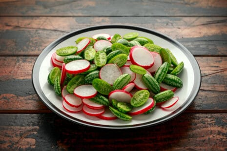 Salade fraiche de cucamelons