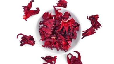 Fleurs séchées d'hibiscus