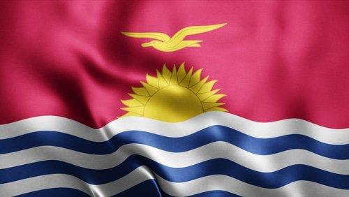Le drapeau des Kiribati