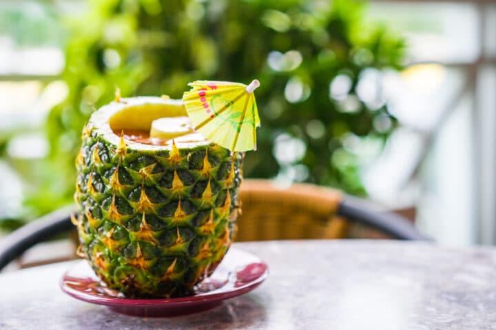 Cocktail eau de coco