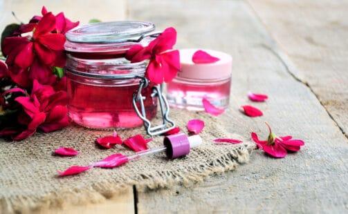 Huile essentielle utilisée en cosmétiques