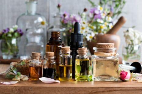 Aromathérapie : sélection d'huiles essentielles