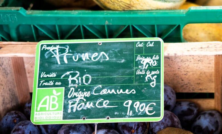 Alimentation bio écolabel