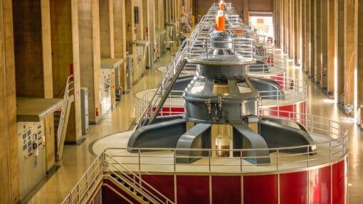 Les turbines hydroélectriques