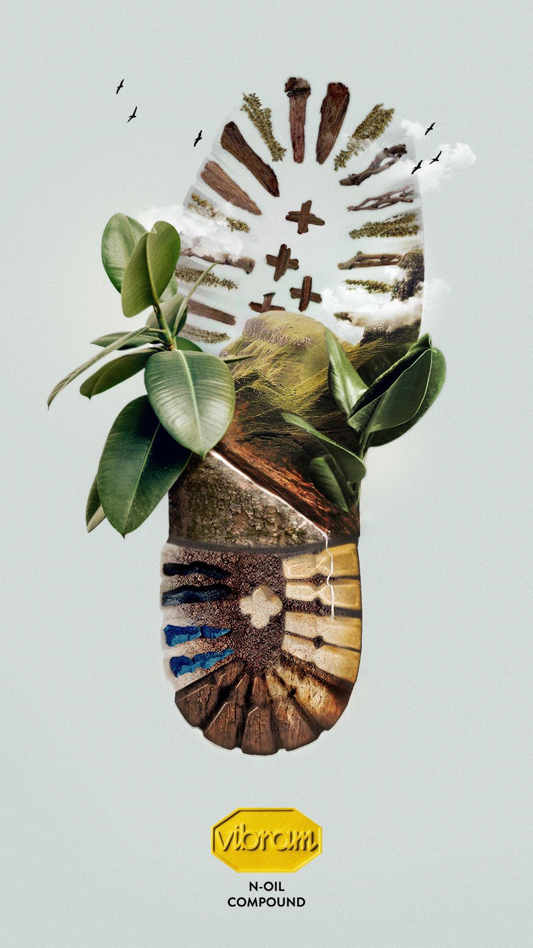 Vibram N-Oil : une semelle naturelle d'origine végétale