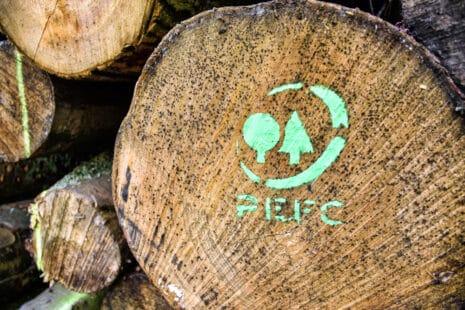 Un logo pour un exploitation forestière plus durable