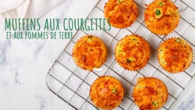 muffins aux courgettes et pommes de terre